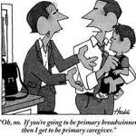 Fulltime werken sluit goed vaderschap niet uit