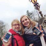 Millennium-meiden testen Efteling-app