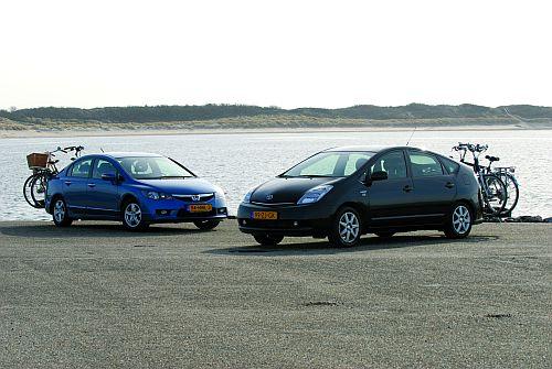 Mede-ontwikkeld voor hybrides als de Honda Civic en Toyota Prius