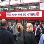 'Carrière-vrouwen zijn slechte moeders'