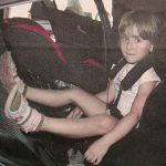 Kinderzitjestest: lekker achterstevoren op de achterbank