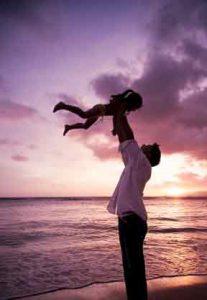vaderkindzonsondergangjpg