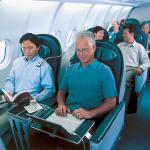 Help stewardess, er zit een man naast me!