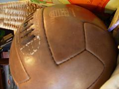 leren voetbal