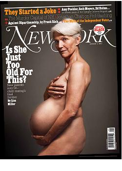 oudere moeder