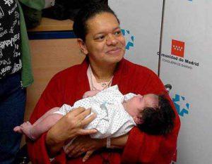 reuzenbaby van 7 kilo