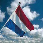 De vlag kan uit!
