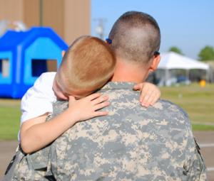vaderverlof-soldaat