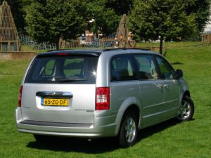 test chrysler grand voyager
