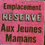 Gratis parkeren voor Franse ploetermoeder
