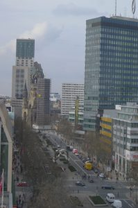 Lunch with a view at KaDeWe Berlin