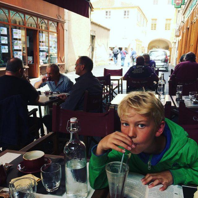 After lunch Caf du Centre Bourgogne